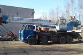 Аренда автокрана 50 тонн в Москве