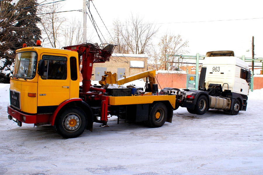 Услуги грузового эвакуатора