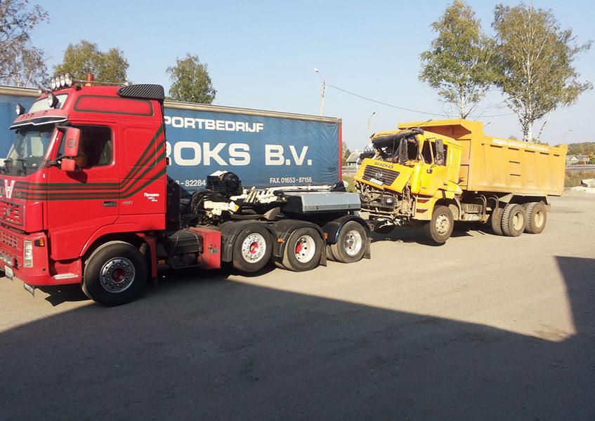 Услуги грузового эвакуатора в Москве