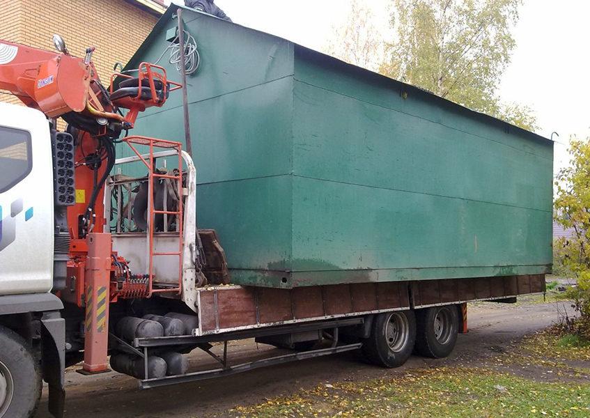 Перевозим гаражи Москва