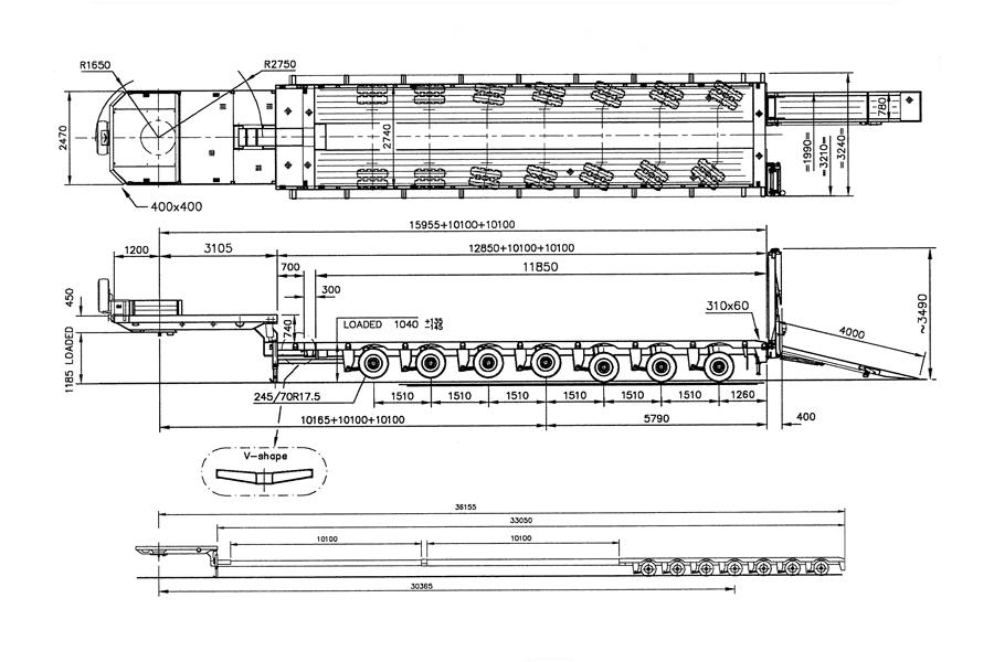 Аренда трала 100 тонн Москва